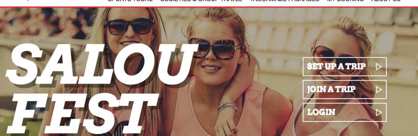 La página web de I Love Tour destaca la edición 2016 del Saloufest