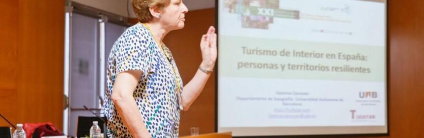 Gemma Cànoves en el XXI Congreso Internacional de Turismo en Castellón